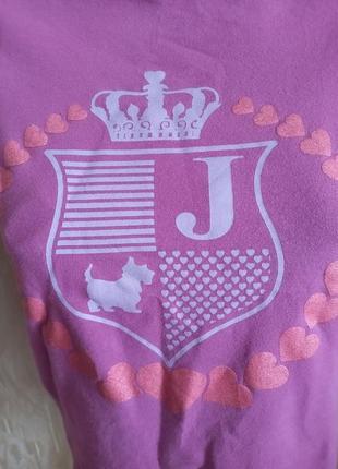 Juicy couture брендовая футболка джуси кутюр2 фото