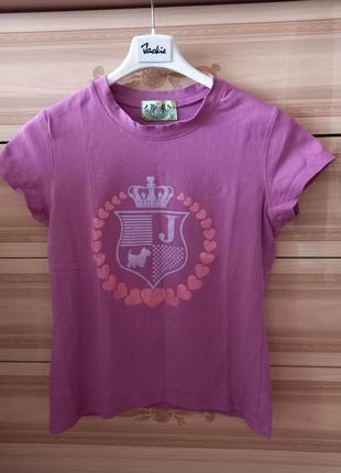 Juicy couture брендовая футболка джуси кутюр3 фото