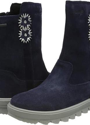 Зимние ботинки для девочки суперфит superfit ,33,34 евро