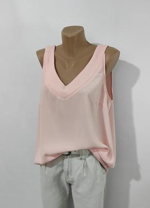 Шифонова блуза на бретелях\майка\шифоновая блуза