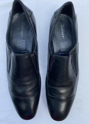 Кожаные туфли размер 43
