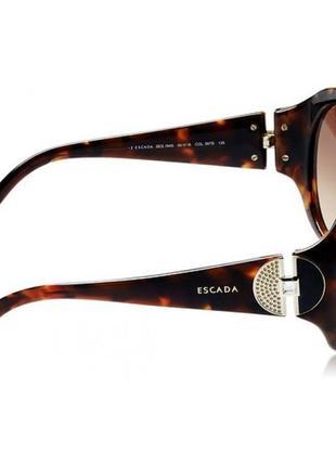 Брендовые солнцезащитные очки с градиентом, made in italy4 фото