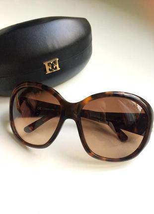 Брендовые солнцезащитные очки с градиентом, made in italy5 фото