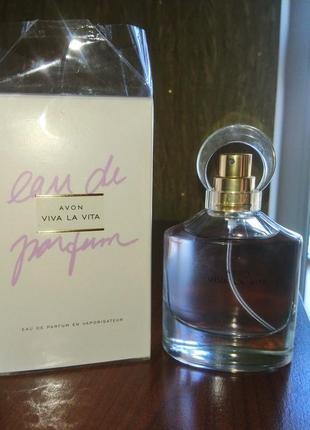 Viva la vita avon 50 мл парфюмерная вода + подарочек