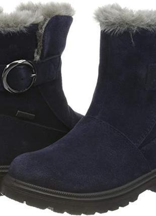 Зимние ботинки для девочки суперфит superfit ,33 евро