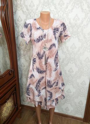 Італійське плаття із бавовни