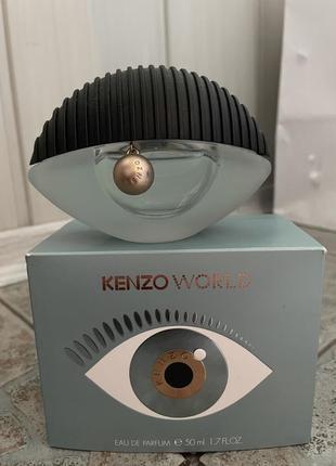 Kenzo world 50 ml парфюмированная вода