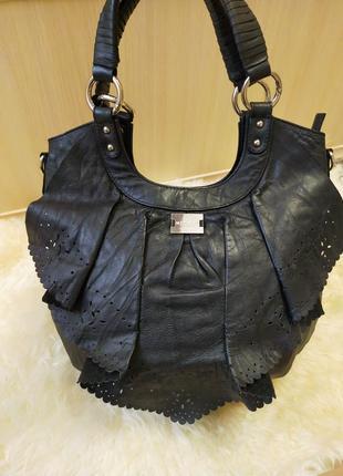 Дизайнерская кожаная сумка modalu london
