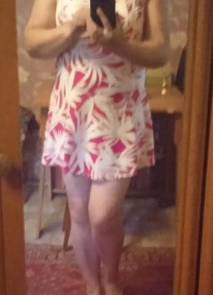 Купальник платье 16 р.с утяжкой