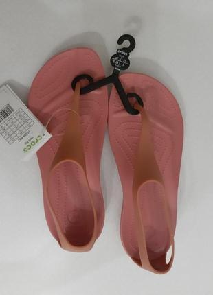 Оригинал crocs!  идеальные женские кроксы босоножки crocs sexy flip флип флопы крокс