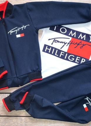 """✅ костюм 3-ка """"tommy hilfiger"""" томми хилфигер (рост 86-92,92-98,98-104,104-110,110-116,116-122)"""