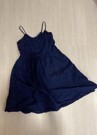 Сарафан хлопковый платье рубашка хлопковая