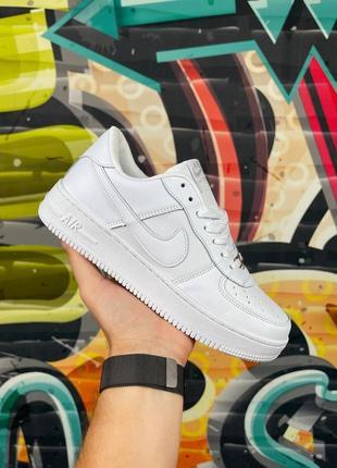 Мужские женские белые кроссовки nike air force whire lf1 найк эир форс вайт недорого купить