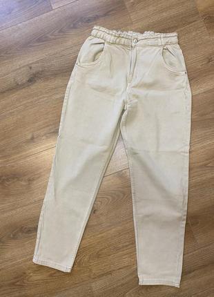 Джинси mom джинсы