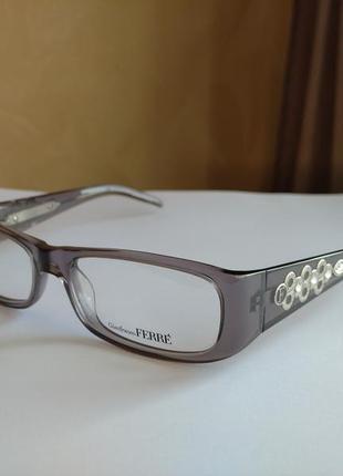 Распродажа супер цена! фирменная оправа под линзы,очки оригинал gf.ferre gf34903 с камнями swarovski новая