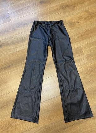 Шкіряні штани кожаные штаны