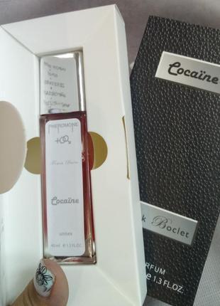 💣cocaїne💣модный суперстойкий унисекс аромат, парфюм духи с феромонами 40 мл usa