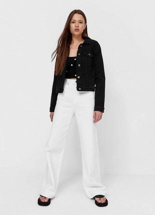Чёрная джинсовка