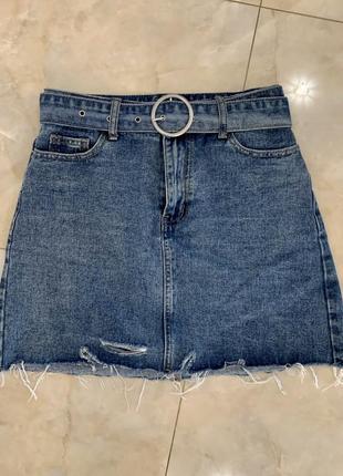 Женская джинсовая юбка befree