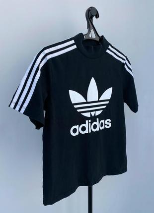 Adidas футболка оверсайз с лого оригинал
