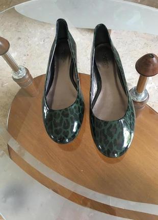 Туфли кожа брендовые 25,5