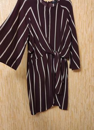 Классное летнее вискозное платье с рукавом 3/4,   на р.50-uk14