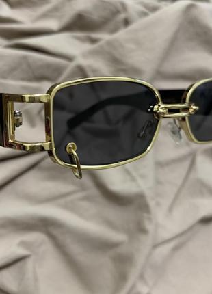 Очки с колечком / очки с пирсингом