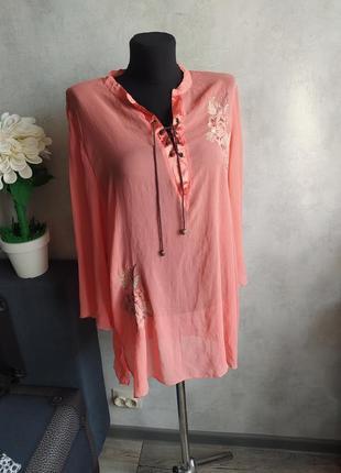 Легкая блуза туника