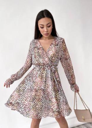 Женское летнее платье в шикарной расцветке