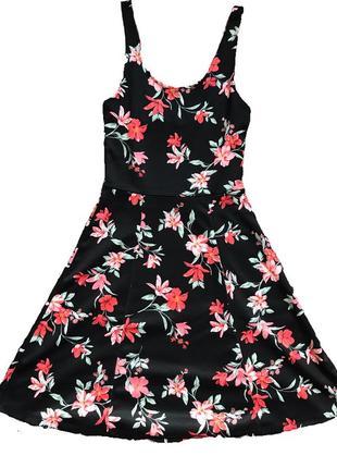 Летнее цветочное платье