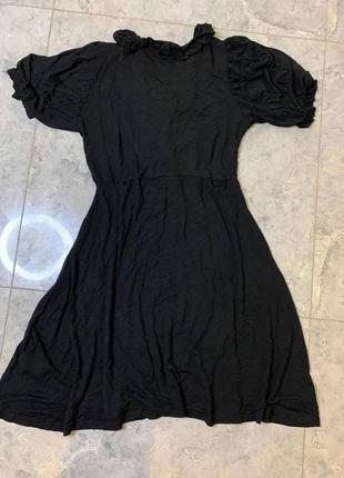 🆘🔥последняя цена до 12 сентября 🆘🔥     черное летнее трикотажное платье с завязкой