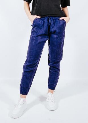 Женские спортивные штаны синие, жіночі спортивні штани сині