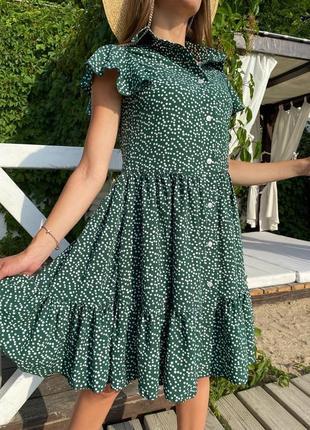 Платье зелений красний мята мокко😘