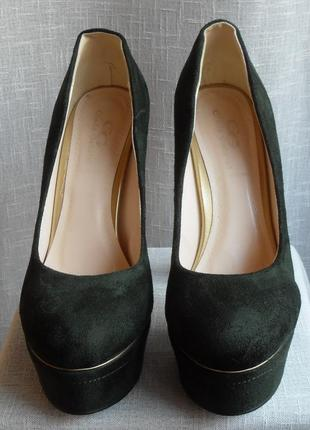 Туфлі зелені туфли зеленые