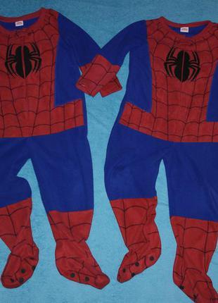 Можно для близняшек essentials spiderman  слип человек паук кигуруми человечек