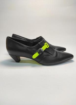 Туфли кожаные супер качество!!! новые италия