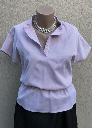 Блуза реглан в полоску,баска,рубаха,serena davini,milano,