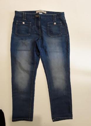 Фирменные укороченые джинсы