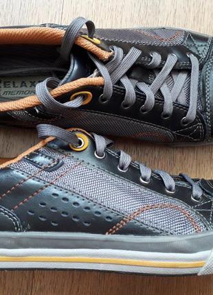 Туфлі кросівки кеди skechers relaxers fit memory foam 41р.
