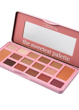 Палитра теней beauty creations the sweetest palette 16 в 1