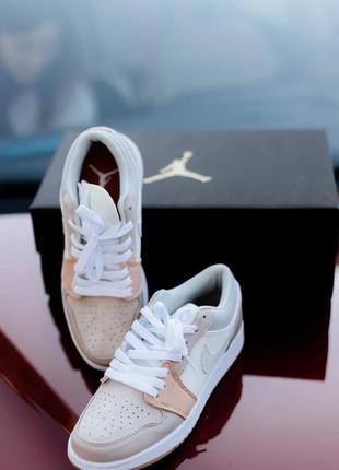 Nike air jordan 1 low milan женские кроссовки наложка