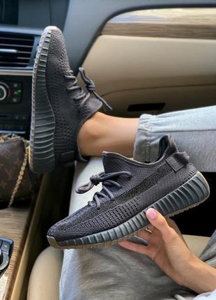 Шикарные кроссовки унисекс adidas yeezy boost 350 cinder наложка