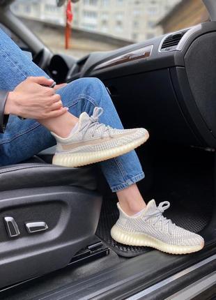 Женские кроссовки adidas yeezy boost 350 ludmark наложка