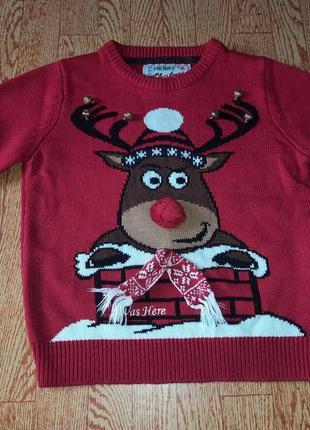 Новогодний свитер family look