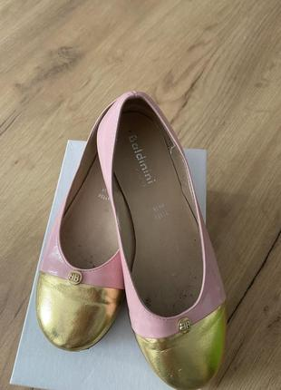 Стильные туфли baldinini для девочки 30 размера