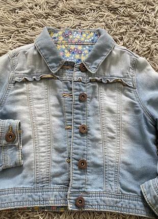 Джинсовая куртка hutmeg