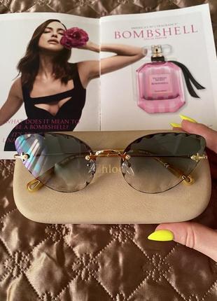 Очень красивые оригинальные очки  chloe