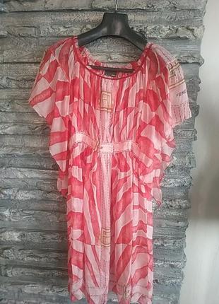 Туника платье прозрачная пляж бассейн