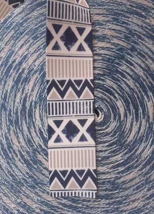 Лента жаккардовая, ременная лента, 38 мм