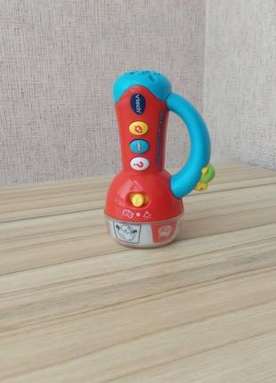 Розвиваюча іграшка кольоровий ліхтарик від vtech